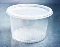 Pote Plástico com Tampa 250 ml