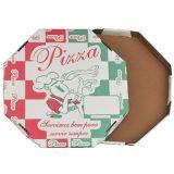 Caixas para Pizza – Timbrada com Formato Oitavado 25 cm