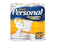 Papel Higiênico Personal Folha Simples 30 M X 10 CM