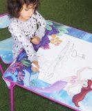 CONJ INFANTIL DOBRÁVEL ROSA – SEREIA C/ 2 CADEIRAS