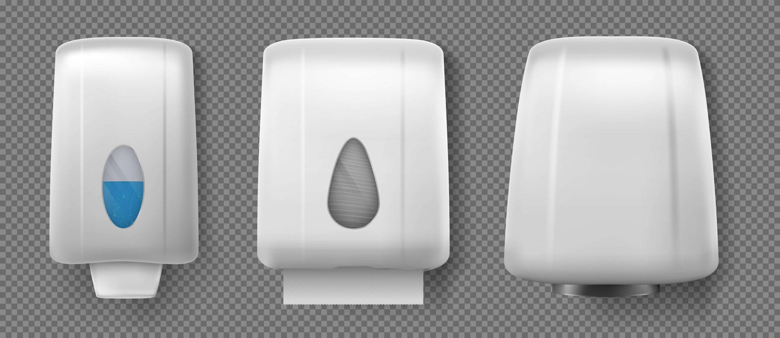 papel toalha ou secador de mãos