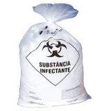 SACO LIXO INFECTANTE 200 LTS C/100 BRANCA