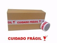 FITA ADESIVA CUIDADO FRÁGIL 48X50 METROS