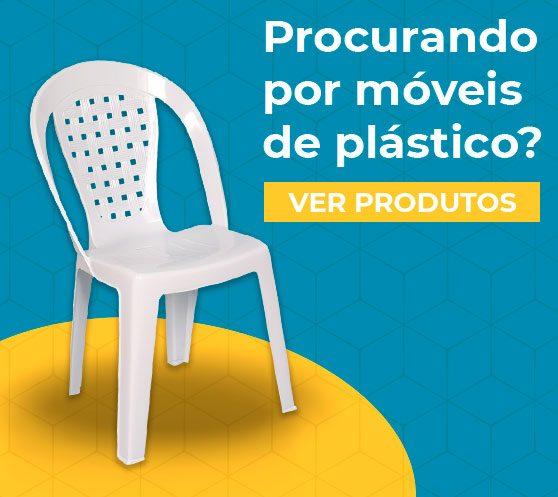 Móveis de plástico