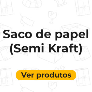 Saco Papel Semi Kraft